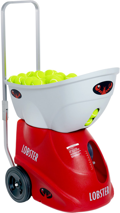 Lobster Elite Two Battery Powered Tennis Ball Machine