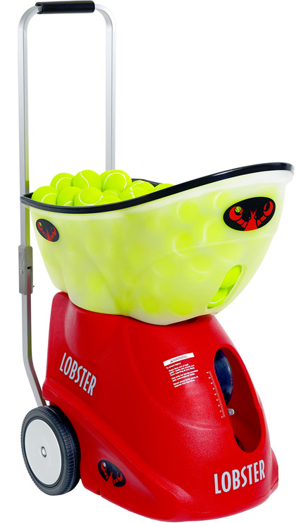 Lobster Elite Grand Five Portable Tennis Ball Machine